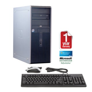 HP DC7900 Core 2 Duo 3.0GHz 4096MB 250GB Windows 7 Pro 64-bit Microtower Computer (Refurbished)