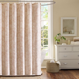Khloe Floral Cotton Shower Curtain