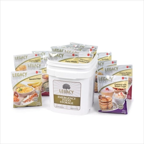 Legacy Premium Family 72-hour Emergency Food Survival Kit (32 Servings)