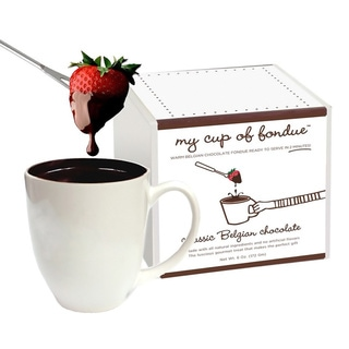 My Cup of Belgian Chocolate Fondue