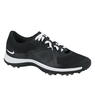 Nike Women's Lunar Summer Lite 2 Black/ White Spikleless Golf Shoes