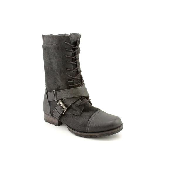Naughty Monkey Women's 'Combat' Leather Boots (Size 6 )