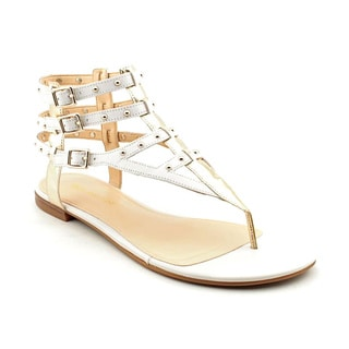 Enzo Angiolini Women's 'Taraketh' Leather Sandals (Size 8.5)