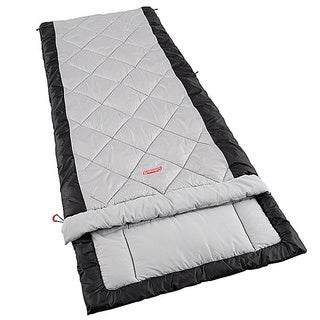 Coleman Comfort Tall Black/ Grey Adult Sleeping Bag