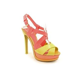 Christian Dior Women's 'Dior Contrast' Patent Leather Sandals (Size 5.5 )