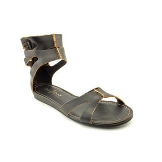 Cole Haan Women's 'Kimry Flat Sandal' Leather Sandals - Wide