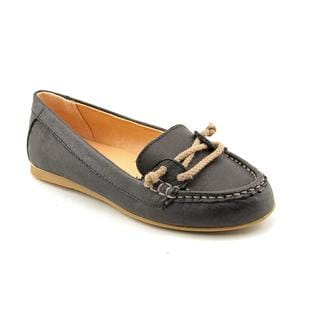 Lil Miz Girl (Youth) 'Seaheart' Leather Dress Shoes