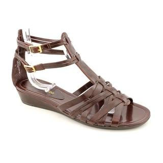 Enzo Angiolini Women's 'Norte' Synthetic Sandals (Size 8.5 )