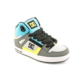 DC Boy (Youth) 'Rebound' Leather Athletic Shoe
