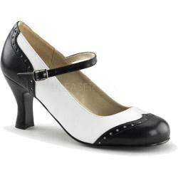 Women's Funtasma Flapper 25 Black/White PU