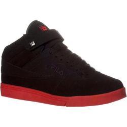 Men's Fila Vulc 13 Black/Black/Fila Red