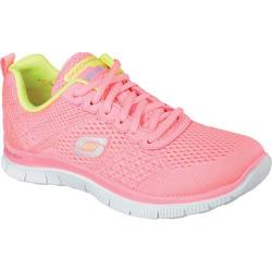 Women's Skechers Flex Appeal Obvious Choice Pink/Yellow