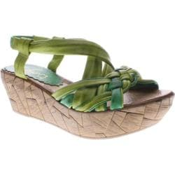 Women's Azura Jaques Green Multi Leather
