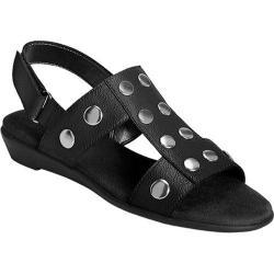 Women's Aerosoles At Heart Black Faux Leather