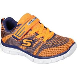 Boys' Skechers Flex Advantage Master Mind Orange/Navy