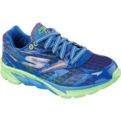 Boys' Skechers GOrun 4 Blue/Lime