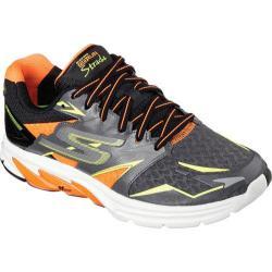 Men's Skechers GOrun Strada Charcoal/Orange