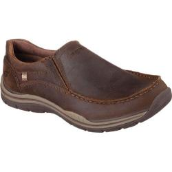 Men's Skechers Relaxed Fit Expected Robino Brown