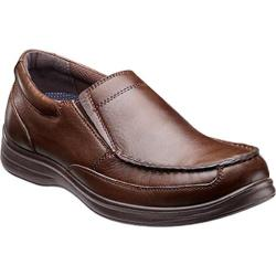 Men's Nunn Bush Max Moc Toe Slip On Cognac Leather