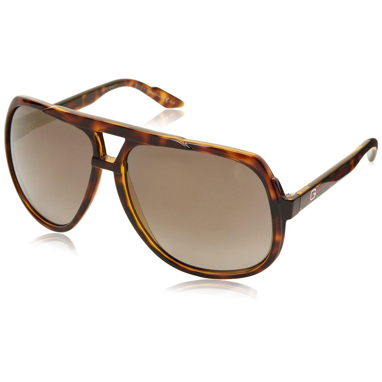 Gucci Men's 1622/S Plastic Aviator Sunglasses