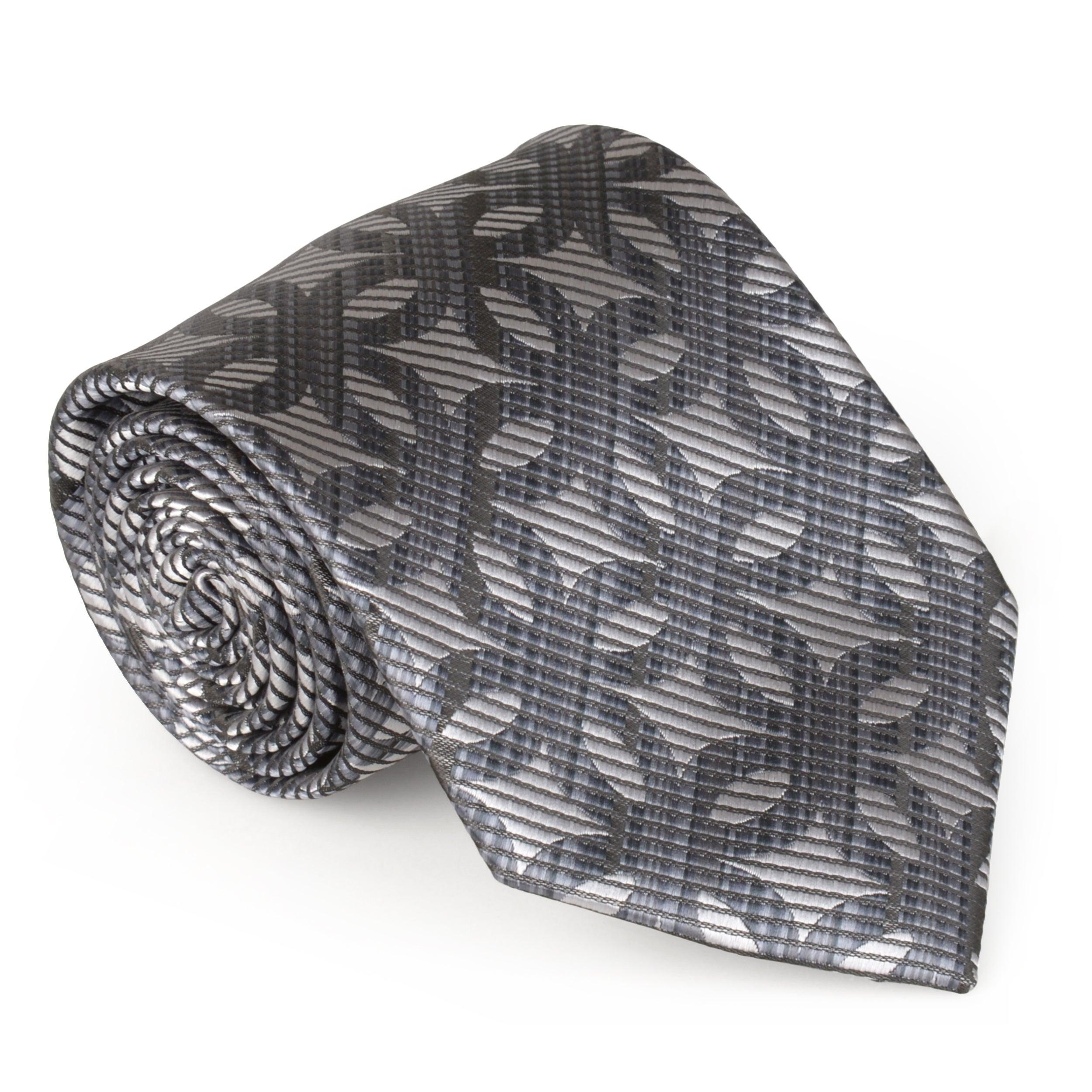 Vance Co. Men's Microfiber Handmade Tie and Hanky Set