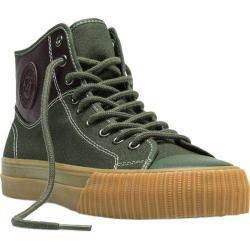 PF Flyers Center Hi Split Green Canvas/Leather