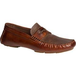 Men's Bacco Bucci Albatros Brown Leather
