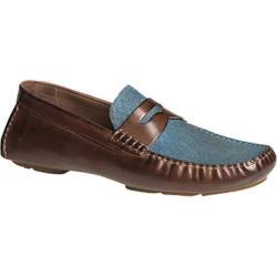Men's Bacco Bucci Albatros Tan/Blue Leather