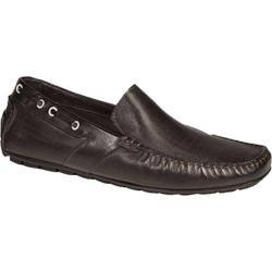 Men's Bacco Bucci Ariston Black Leather