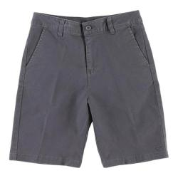 Boys' O'Neill Contact Stretch Shorts Dark Charcoal Heather