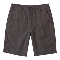 Boys' O'Neill Delta Plaid Shorts Black