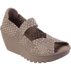 Women's Skechers Parallel Taupe/Silver