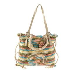 Women's Laugoa Camouflage Knitted Bag White