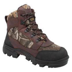Men's AdTec 1657 7in Camo Boot Dark Brown Leather