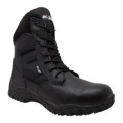 Men's AdTec 1968 8in Waterproof Tactical Boot Black Leather