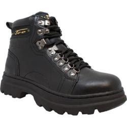 Women's AdTec 2980 6in Steel Toe Work Boot Black Leather