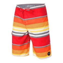 Men's O'Neill Santa Cruz Stripe Boardshorts Orange