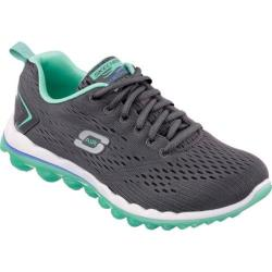 Women's Skechers Skech-Air 2.0 Charcoal/Turquoise