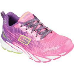 Girls' Skechers Speed Upz Neon Pink/Purple