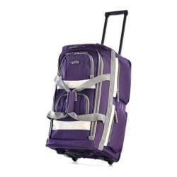 Sports Plus 26in 8 Pocket Rolling Duffel SRD-26 Dark Lavender
