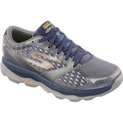 Men's Skechers GOrun Ultra 2 Charcoal/Navy