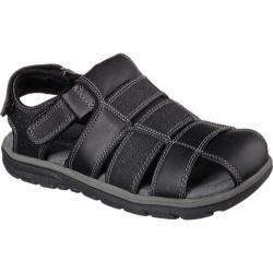 Men's Skechers Relaxed Fit Supreme Olvero Black