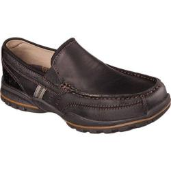 Men's Skechers Relaxed Fit Vorlez Hopeton Black