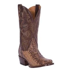 Men's Dan Post Boots Antioch 12in DP2360in Amber Leather/Flank Caiman