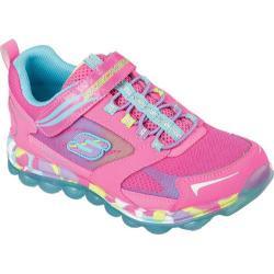 Girls' Skechers Skech-Air Bounce Ups Sneaker Neon Pink/Multi