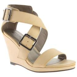 Women's Michael Antonio Kendrick Wedge Natural PU