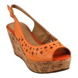 Women's Bruno Menegatti 10145747 Wedge Orange