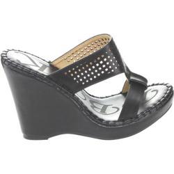 Women's Westbuitti Meira-2 Wedge Slide Sandal Black
