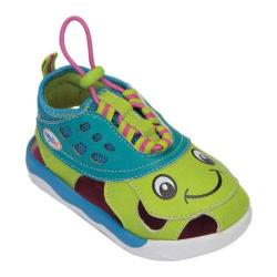 Girls' Zooligans Shelly the Turtle Green Glow/Dark Pink