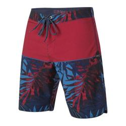 Men's O'Neill 29 Palms Futures Boardshorts Deep Red